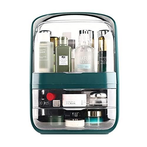 HHF Organisateurs De Maquillage Cosmétiques Tiroir Organisateur De Maquillage ABS Transparente 3 Tiroirs pour Cosmétiques, Rouges À Lèvres, Pinceaux De Maquillage, Parfum
