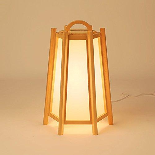 Lampadaire style japonais lampe de table simple créatif nouveau restaurant chinois en bois lampes