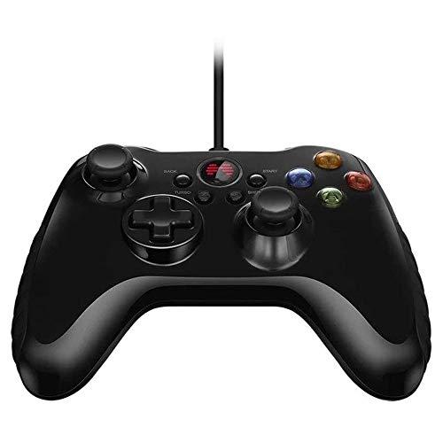 FGH QPLKKMOI con conexión de Cable del Juego de Gamepad con Joystick, (Color: Negro, Tamaño: Un tamaño)