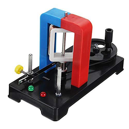VIEUR Handstromerzeuger Hand Elektrizität Generator Modell AC-DC HandGenerator DC AC Dual Current Physikalisches Experiment Bildungsspielzeug