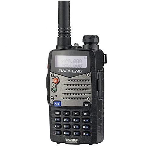 Baofeng UV5RA Ham Two Way Radio 136-174/400-480 MHz Dual-Band Transceiver (Black) 4