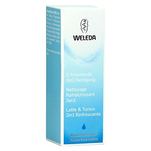 Weleda Erfrischende 2in1 Reinigung Milch, 10 ml