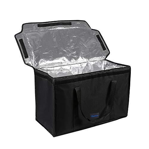 DELEBAO Kühltasche Lunchtasche Reisenthel Coolerbag Picknicktasche Kühltasche Faltbar Thermotasche Kühltasche Mittagessen Tasche Isoliertasche 60 Liter