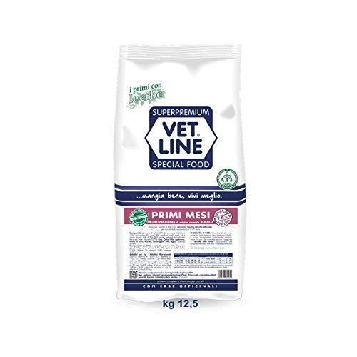 Vetline Primi Mesi Bufalo 12.5 Kg Monoproteico Crocchette Per Cani Cuccioli