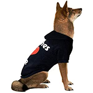 APTPET Dog Hoodie for Small to Large Dogs, Cats, Pet Warm Clothes Sweatershirt Coat for Cats, Puppies