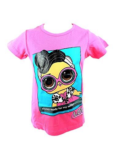 T-Shirt L.O.L. Surpise Dolls LOL rosa 128