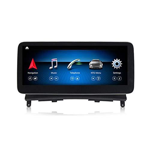 Android Car Stereo Radio 2 Din Sat Nav Compatible con Mercedes Benz Clase C W204 2007-2010 Navegación GPS Pantalla táctil de 10.25 pulgadas Reproductor multimedia Receptor de video con 4G Carplay