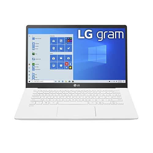 "LG Gram Laptop - 14"" Full HD IPS Display, Intel 10th Gen Core i5-1035G7 CPU, 8GB RAM, 256GB M.2 MVMe SSD, Thunderbolt 3, 18.5 Hour Battery Life - 14Z90N (2020)"