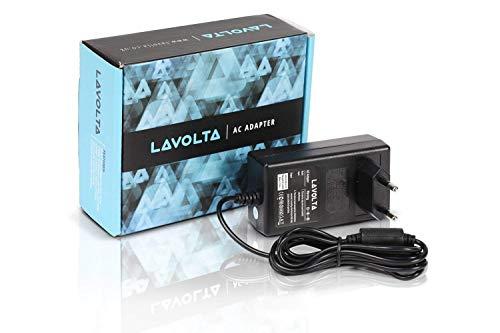 12V Lavolta Cargador para Yamaha PSR-170 PSR-190 PSR-220 PSR-260 PSR-262 PSR-270 PSR-275 PSR-280 PSR-290 PSR-295 PSR-38 PSR-E203 PSR-E223 PSR-E403 PSR-GX76 PSR-I245 PSR-I425 PSR-K1 Teclado Electrónico