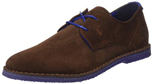 El Ganso Bajo Guerrero Ante, Zapatos con Cordones Hombre, Marrón (Marrón), 40 EU