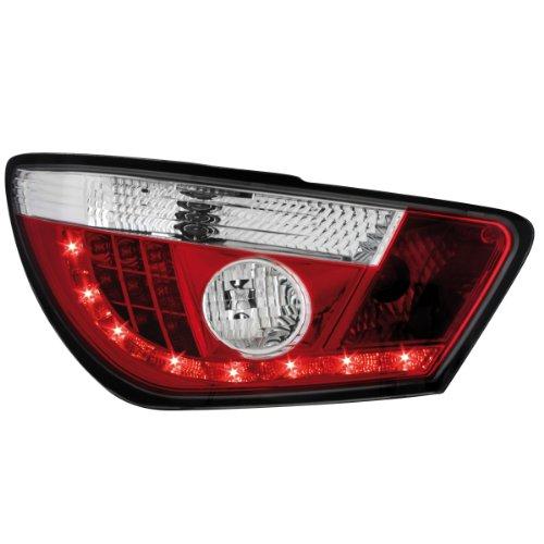 Dectane RSI09LRC LED Rückleuchten Seat Ibiza 6J 04.08+, rot/chrom