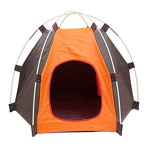 alpscale Draagbare Vouwen Camping Huisdier Hond Kat Tent Huis Shelter Regendichte Zonnebrandcrème Wasbaar Indoor Outdoor Camping Puppy Huisdier Tent Bed
