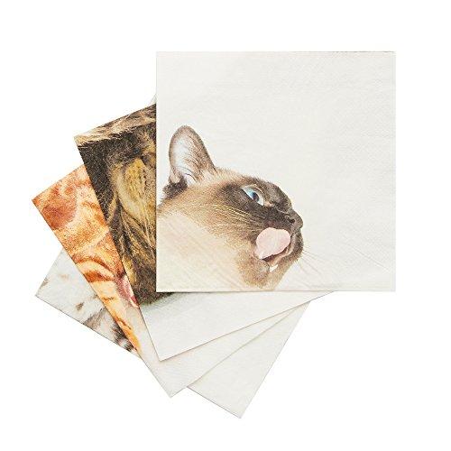 SUCK UK Katzen-Servietten