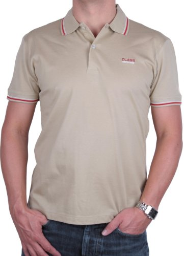 Roberto Cavalli Herren Poloshirt Polo Viele Farben und Größen (M, Beige)