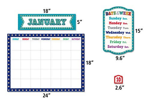 Teacher Created Resources Marquee Calendar Bulletin Board Photo #2