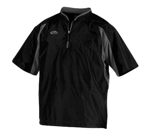 Rawlings Men's Cage Jacket (Black, Medium)