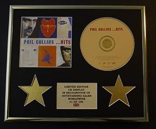 Phil Collins / CD Display / limitierte Auflage / Echtheitszertifikat / Hits