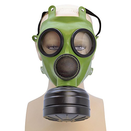 Bristol Novelty ba1313 Realistische Gas Maske für Fancy Kleid, One Size