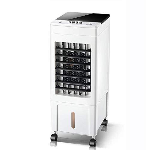 YANGLOU - Ventilador de aire acondicionado- 3 velocidades del viento Ventilador de aire acondicionado, refrigeradores evaporativos portátiles con control de botones, refrigerador de aire oscilante, se