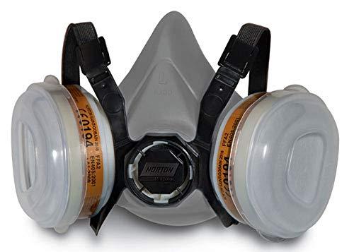 Norton semi-mascara - Mascarilla respiratoria cartucho dual a2p2