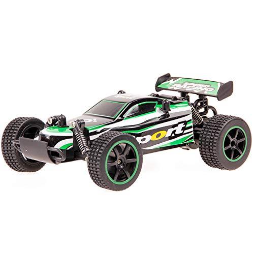 LJKD Coche teledirigido competitivo de Alta Velocidad Que Carga el Regalo del Juguete de los niños del Coche de Juguete Todoterreno,Verde