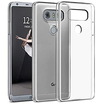 SNOSHO Clear Case for LG G6 Case,LG G6 Plus Case,Slim Thin Soft Skin Silicone Flexible TPU Gel Anti-Scratch Shockproof Lightweight Protective Cases Cover for LG G6,Crystal Clear