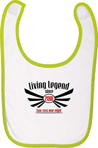 Camiseta stown Living baberos Legend Since 2018Two Zero One Eight verde Talla:talla única