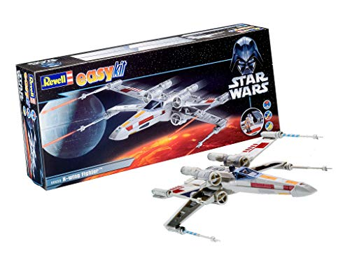Revell easykit 06656 X-Wing Fighter - Maqueta de la Nave Espacial de Luke Skywalker de Star Wars
