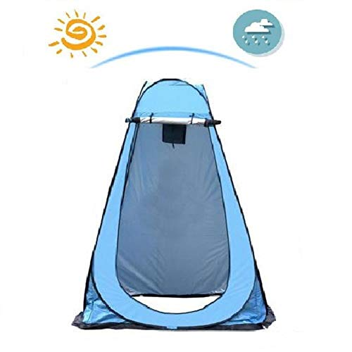lā Vestmon Shower Tent, Pop Up Pod Changing Room Privacy Tent Easy Set Up Portable Outdoor Shower Tent Camp Toilet Rain Shelter for Outdoor Camping Beach