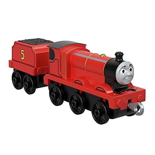 Thomas & Friends Il Trenino Thomas James, Locomotiva a Ruota Libera, Giocattolo per Bambini 3+ Anni, FXX21