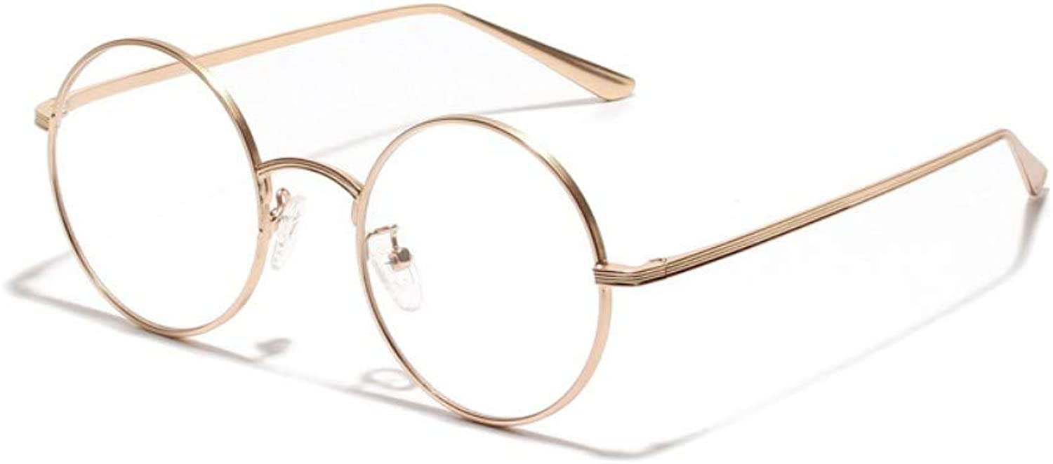 Sunglasses Small Round Sunglasses Women gold Metal Frame gold With Clear Circle Sun Glasses Men Retro Eyeglasses Vintage Summer