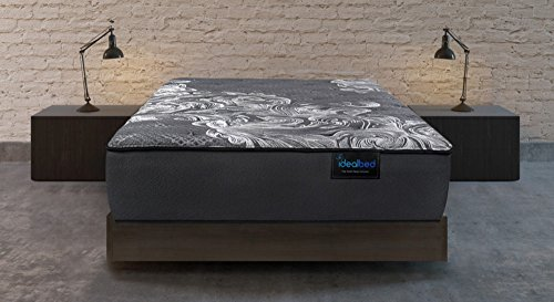 iDealBed Luxe Series iQ5 Hybrid Luxury Firm Mattress, Smart Adapt Hybrid Coil & Foam System for Optimal Temperature Regulation, Pressure Relief, and Support, Made in USA, 10 Year Warranty (Queen)