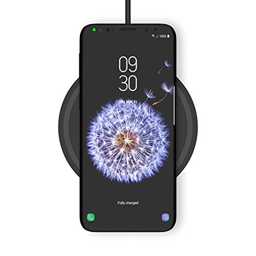 Belkin draadloze Boost Up 10-W-lader - draadloze Qi-oplader (voor iPhone 11, 11 Pro/Pro Max, XS, XS Max, XR, X, 8, 8+/Samsung Galaxy S9, S9+, Note9 en andere modellen), Pad 10 W, zwart
