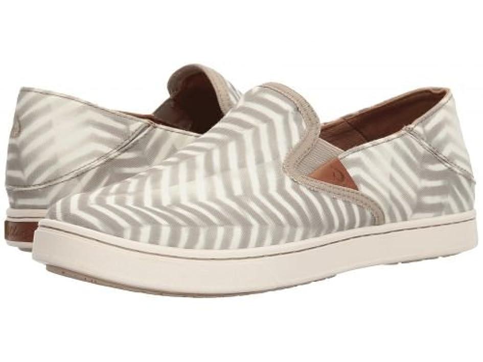ちっちゃい夕食を作る道徳Olukai(オルカイ) レディース 女性用 シューズ 靴 スニーカー 運動靴 Pehuea Pa'i - Silt/Off-White [並行輸入品]
