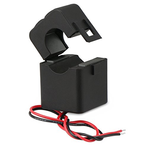 Droking Stromwandler, 100A / 100mA AC-Stromwandler, Mini-Stromsensor, Split-Core-Stromwandler-Relais, CT ohne Abschaltung