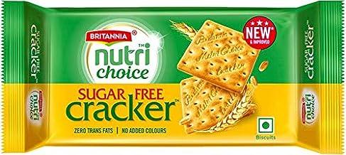 Britannia NutriChoice Sugar Free Cracker, 100g
