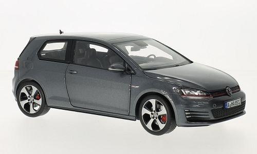 VW Golf VII GTI, metallic-grau, 2014, Modellauto, Fertigmodell, Norev 1:18
