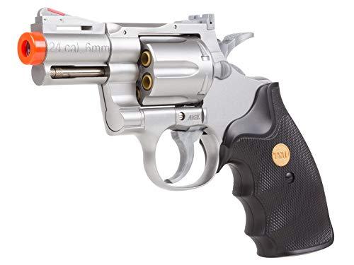 uhc 939 2.5 inch barrel revolver, silver/black airsoft gun(Airsoft Gun)