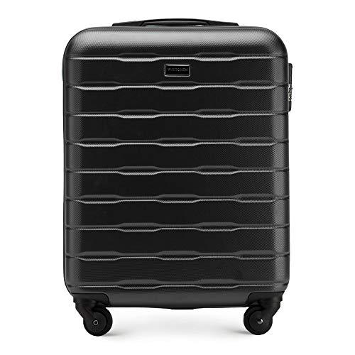 WITTCHEN Stabiele koffer Trolley handbagage Bordcase afmetingen 54 x 39 x 23 cm capaciteit 38 l Gewicht 2,7 kg ABS