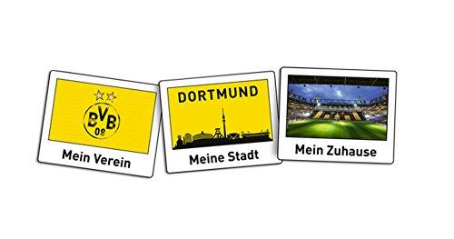 Borussia Dortmund BVB Aufkleber Polaroid 3 Stück, Folie, Mehrfarbig, 26 x 10 x 1 cm, 3-Einheiten