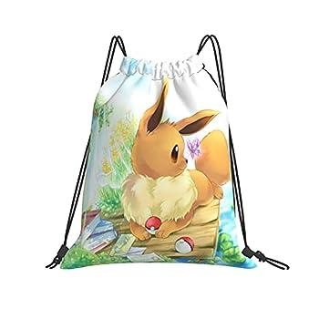 Drawstring Bag Gym Sackpack For Men Women Magic Ee-Vee String Bag Drawstring Backpack Bag For Shopping Sport