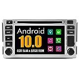 Roverone sistema Android 6,2 Pollici doppio DIN autoradio GPS per Hyundai Santa Fe 2007 2008 2009 2010 2011 2012 con navigazione radio stereo Bluetooth SD USB DVD touch screen