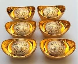 6 Feng Shui Ingots