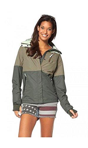 KangaROOS Damen Funktionsjacke Übergangsjacke Jacke (38, Taupe)