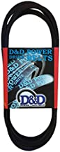 D&D PowerDrive 9907B130 TRU Test Replacement Belt, B/5L, Rubber