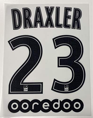 flock Original Paris Saint-Germain Trikot 20cm - DRAXLER 23