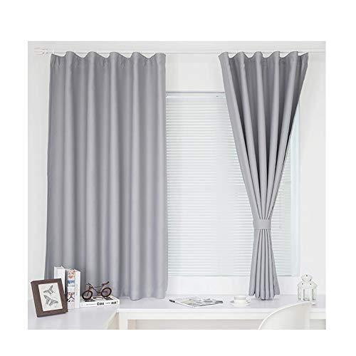 cortinas habitacion opacas grises