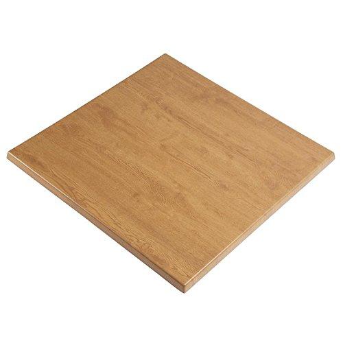 Werzalit Plus Cc517 carré Dessus de table, 700 mm, chêne
