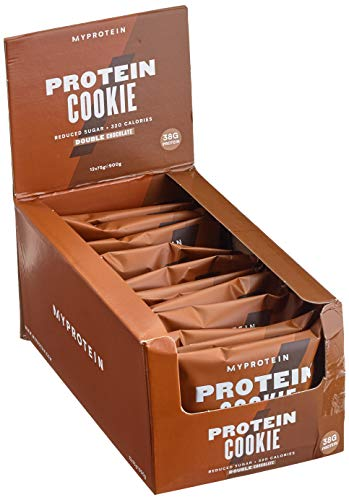 Myprotein Max Protein Cookie Box Double Chocolate Chip 12 x 75 g