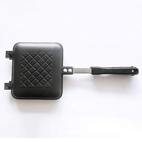Sandwich Frying Pan - Dubbelzijdige Non-stick, aluminium, Geschikt voor gas, elektrische keramische oven, niet van toepassing op inductie Cooker